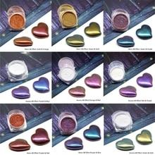 Pigment-Mirror Rainbow Chameleons Jewelry-Making-Kit Powder-Colorant Glitter Resin Pearl