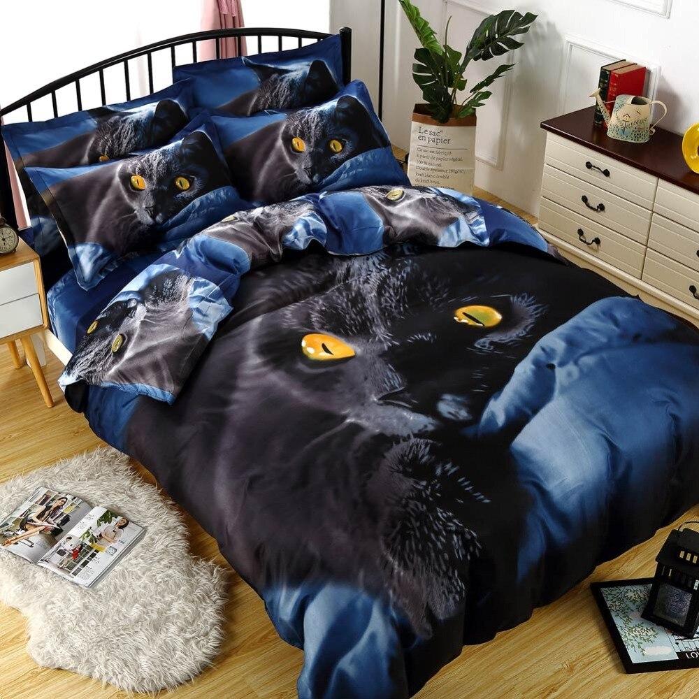 Svetanya 3D Animal Printing Bedding Set ( Duvet Cover+Pillowcase) Twin Full Double Queen Super King Size