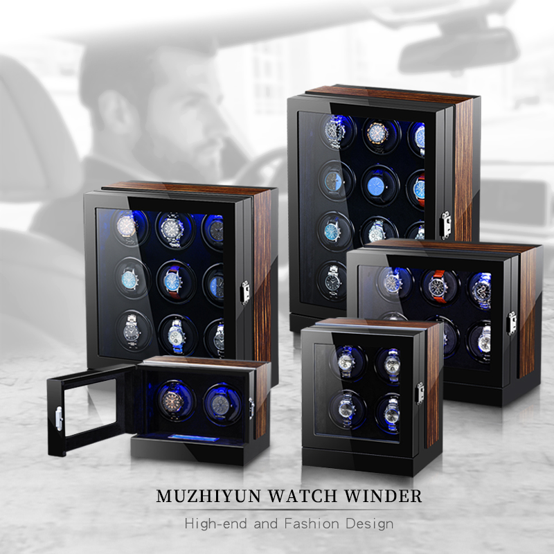 Automatic Luxury Watch Winder Box Accessories Watch Display Mechanical Rotating Watch Uhrenbeweger For Men Watch