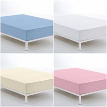 VIP textures-cotton fitted sheet