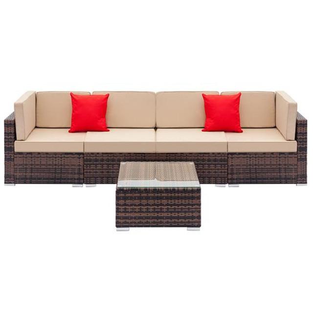 Sofa Set with Coffee Table  1