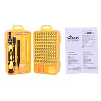 Screwdriver Set 115 in 1 Sets Multi-function Computer PC Mobile Phone Cellphone Digital Electronic Device Repair Home Tools Bit