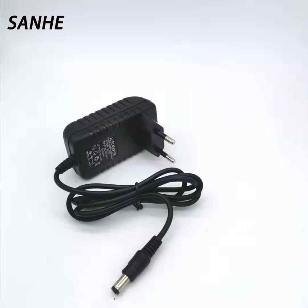 20191 Pcs 5V2A Baru AC 100 V-240 V DC Adaptor 5V 2A 2000MA Uni Eropa Plug DC power Supply 5.5 Mm X 2.1 Mm