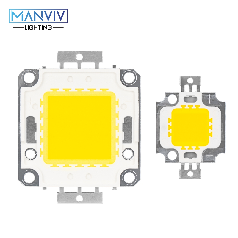 5pcs High Power LED Lamp Chip 100W 50W 30W 20W 10W DC Light Beads White Warm White COB Chip DIY Floodlight Downlight Stree Light