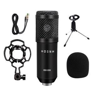 Image 3 - Bm800 Professional Condenser Sound Microphone Kit 5pcs/set Bm 800 Karaoke Desktop Microphone Mic Wire With Shock Mount Spider
