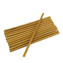 Бамбуковая Питьевая соломинки многократного использования экологически чистые вечерние кухонные бамбуковые соломинки с чистящей щеткой