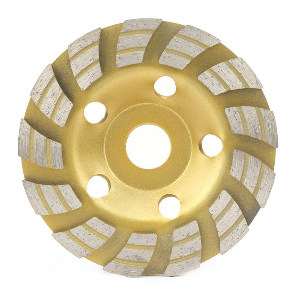 Polishing Grinding 125 * 22.2mm Diamond Segment Grinding Wheel Cutting Disc For Concrete Marble Granite Cutting Tools Sintering