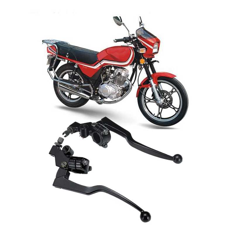 Bremse Kupplung Hebel für Honda CG125 CG 125 125Cc 220mm Lange Griff Lenker Motorrad Brems Griff Hebel