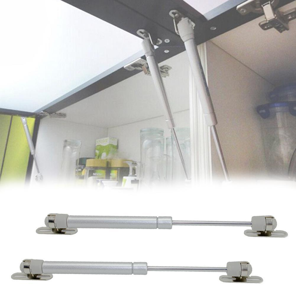 100N/10kg Force Cabinet Door Lift Pneumatic Support For Kitchen Doors Gas Hydraulic Cabinet Liftup Spring Tool Stay Opening I6M7