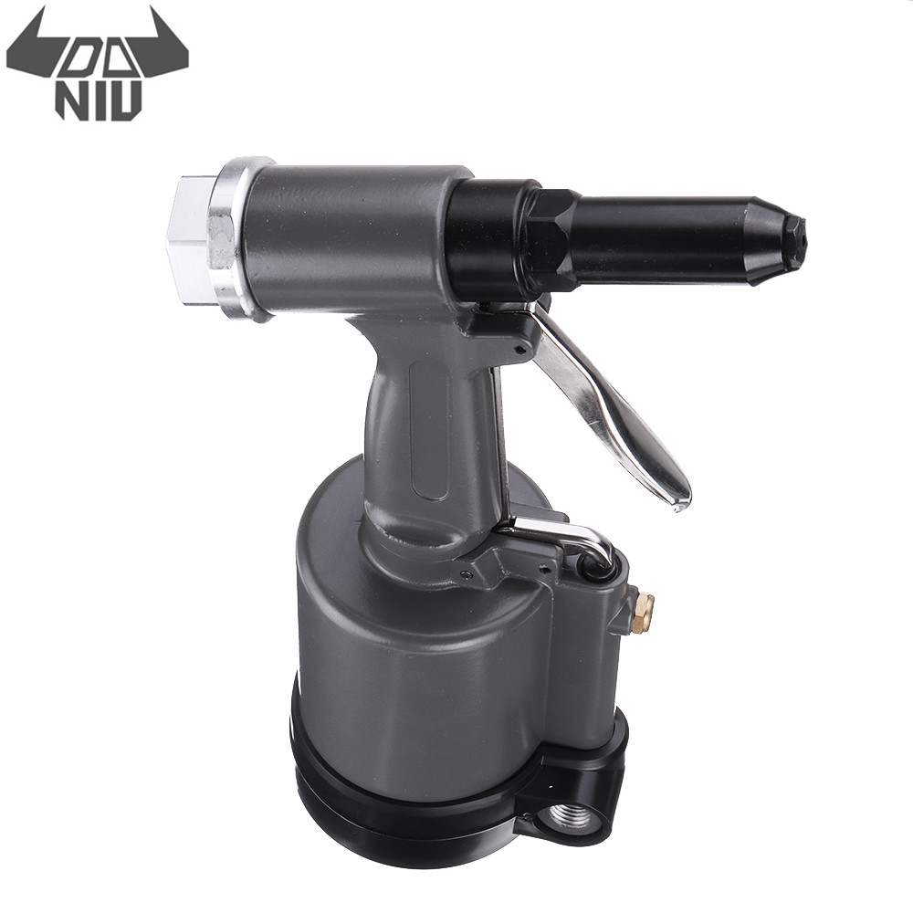 DANIU TR8500 Heavy Duty Pneumatic Air Riveter Riveting Tools 2.4mm 3.0mm 4.0mm 4.8mm Hand Rivet Tool Kit