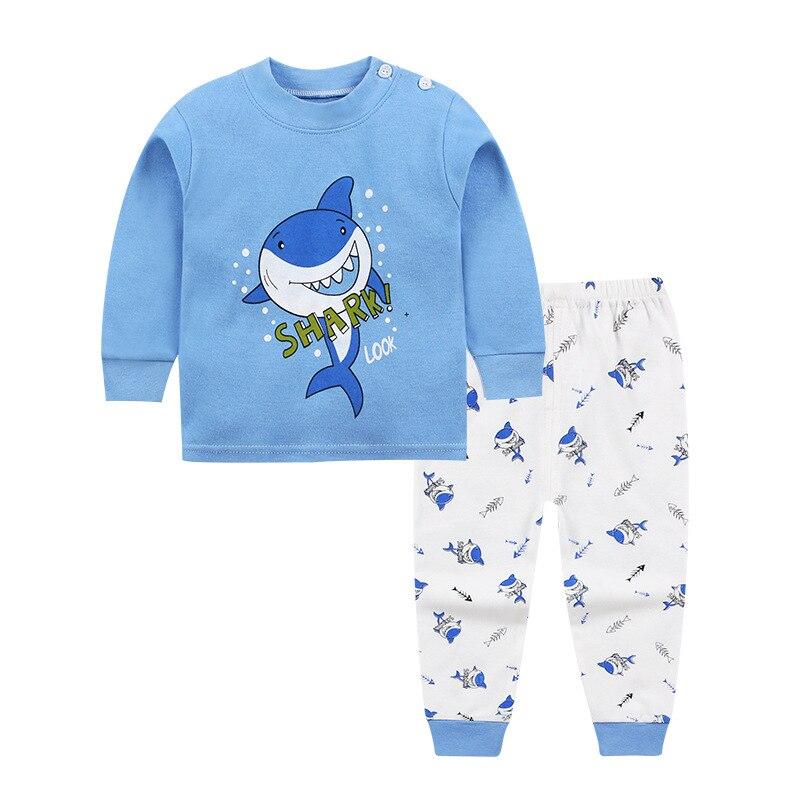 TUONXYE Children's Pajamas Kids Cartoon Lion Pajamas Set Baby Boys Long Sleeve Pyjamas Child Pijama Infantil Girls Night wear 2