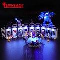 BriksMax Led Light Up Kit для бронированных холлов Tony Stark  строительных блоков  совместимых с 76125