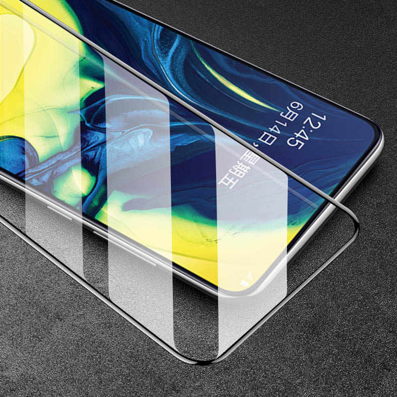 9D Tempered Glass For Samsung Galaxy A50 A70 A80 A90 A20 A30 A10 A60 A40 Screen Protector For Samsung A8 A7 A9 2018 Protective