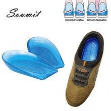 Ортопедические стельки для обуви силикагелевые o/x поддержка