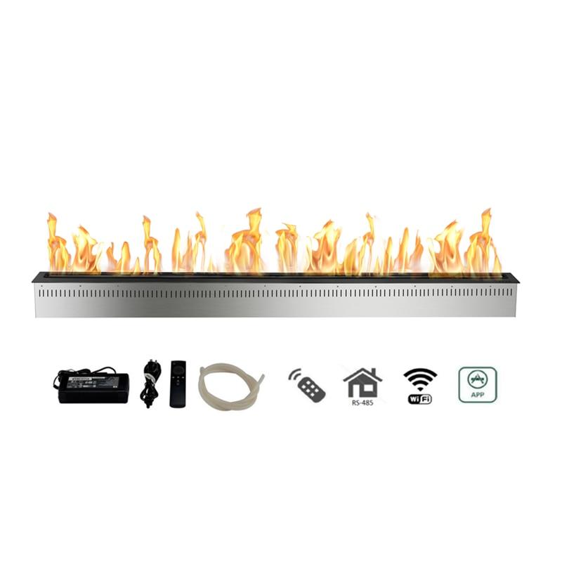 72 Inch  Indoor Free Standing  Bioethanol Fireplace