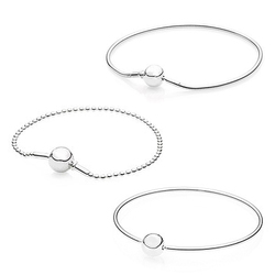 DORAPANG NEW Top quality 100% 925 sterling silver essence series bracelet suitable for women's original bead fit diy charm chain