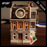 In Stock 07107 Avengers Marvel DC Super Hero Sanctum Sanctorum Showdown Building Blocks Bricks Toys Compatible 10840 76108