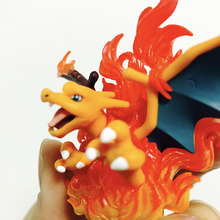 Takara  NEW Hot Anime Mega Charizard Action Figure Model Cartoon POKEMON Figure Model Gifts Toys for Children цена в Москве и Питере