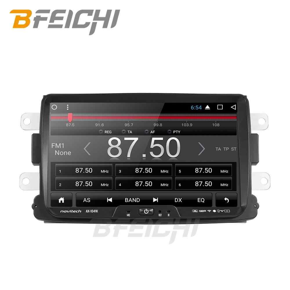 Untuk Reanault Dacia Mobil Dvd DSP Lodgy Logan Kain Lap Sandero Dacia Radio GPS Navigasi Video Px6 Navigasi Multimedia Player