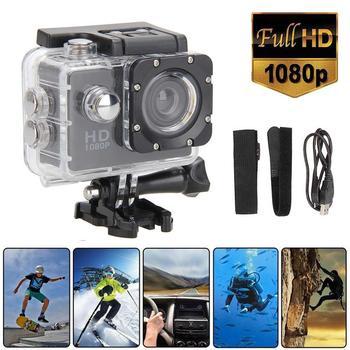 2020 Full HD 1080P Waterproof Camera 2.0 Inch Camcorder Sports DV Go Car Cam Pro Mini Sports DV Camcorder With Cam Accessories