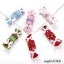 Милый конфетный Форма саше для домашних животных Рождественский