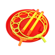 Bubble Machine Wand Soap Maker Big Dish outdoor colorful Gift for Child Wedding DIY Photo Props Kids Toys