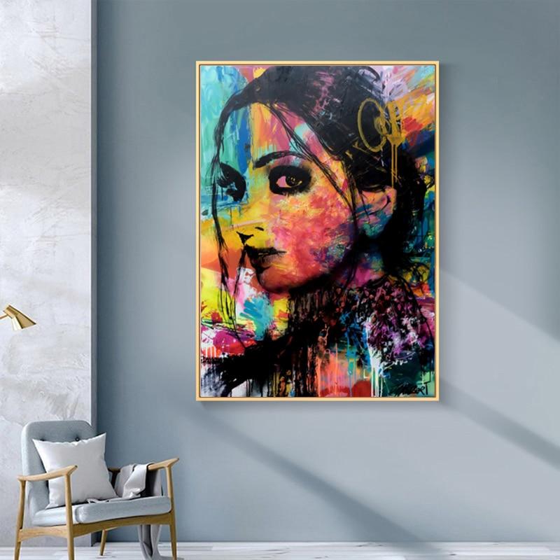 Peinture à l'huile Portrait affiches et impressions