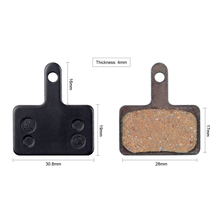1 Pair Bicycle Resin Disc Brake Pads Shimano B01S MT200 M400 MT500 M315 ~ M525 Acera Alivio deore/Orion Auriga Pro
