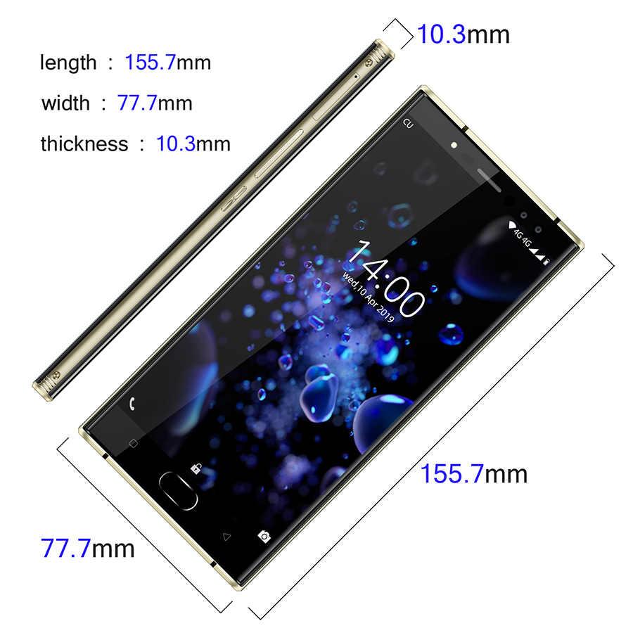 "Oukitel K3 Pro 5,5 ""Dual 2.5D pantalla MT6763 Octa Core 4GB 64GB 6000mAh Smartphone 4 cámaras 13MP + 2MP Dual Cámara teléfono móvil"