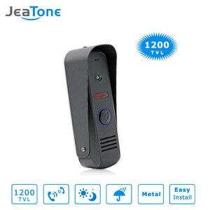 Image 4 - JeaTone 7 Cal WiFi inteligentny przewodowy System wideodomofonowy domofon telefoniczny z deszczownicą kamera ochrony dzwonek do drzwi wykrywanie ruchu