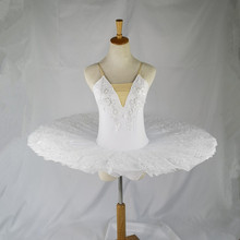 Профессиональная балетная пачка с белым лебедем для детей, балерины для девочек, Современные вечерние костюмы для танцев, балетная пачка для детей и взрослых