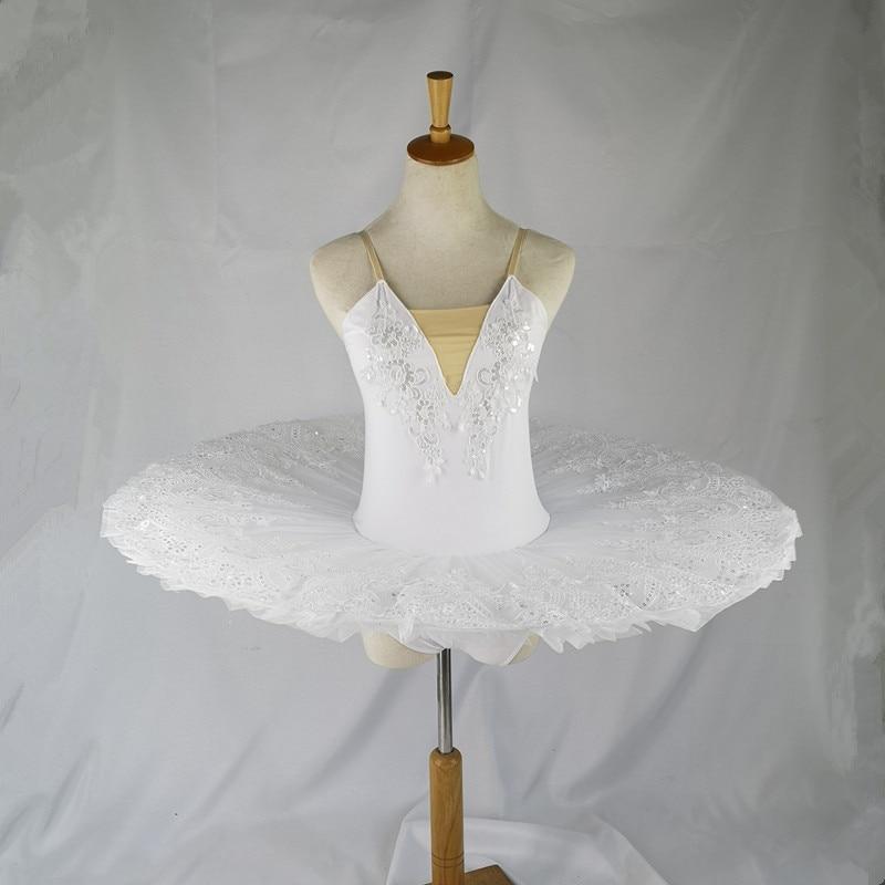 White Swan Professional Ballet Tutu Child Kids Girls Ballerina Costume Contemporary Party Dance Costumes Ballet Tutu Child Adult