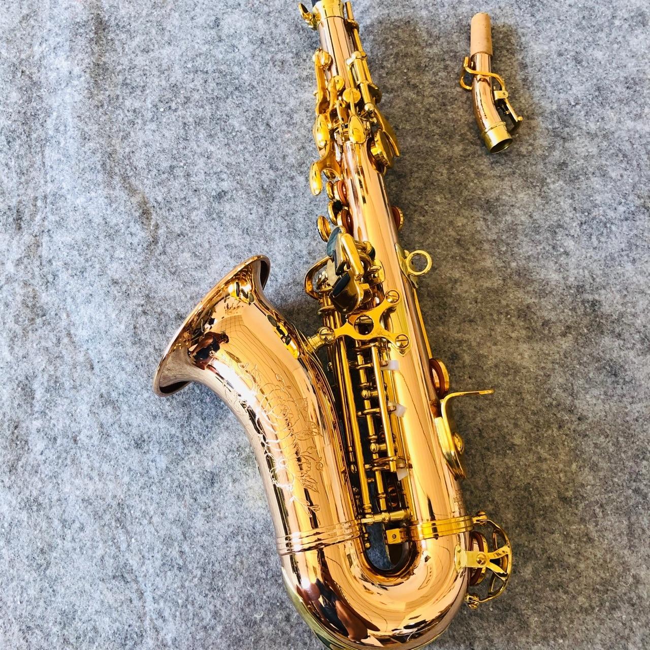 de bronze concha snap grelhado saxofone primavera azul