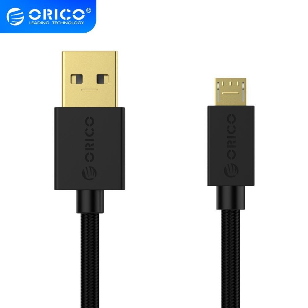 ORICO kabel USB do Micro B telefon komórkowy szybkie ładowanie 2A obsługa drutu transmisja danych dla Xiaomi Redmi Note 5 Samsung