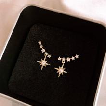 2020 New Arrival Zeojrlly metalowe klasyczne kobiety Dangle kolczyki proste małe kobiety modne kolczyki damska biżuteria dla kobiet tanie tanio Ze stopu cynku Klasyczny GEOMETRIC