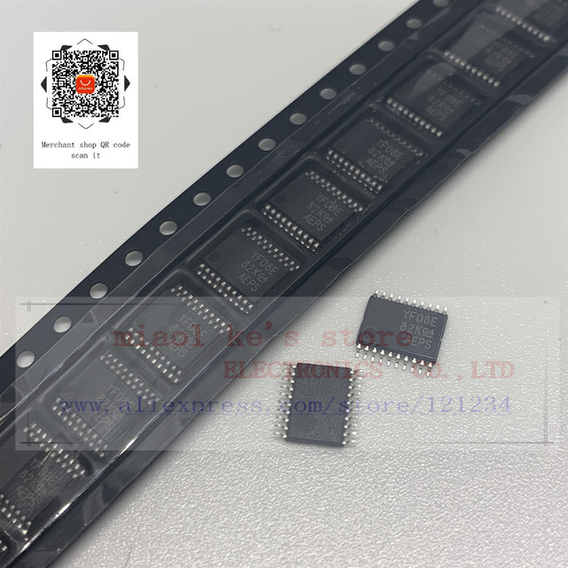 [5 قطعة ~ 10 قطعة] جديد أصلي 100%: txtxtxtxs0108e TXS0108 YF08E YE08 IC TRNSLTR ثنائي الاتجاه 20TSSOP