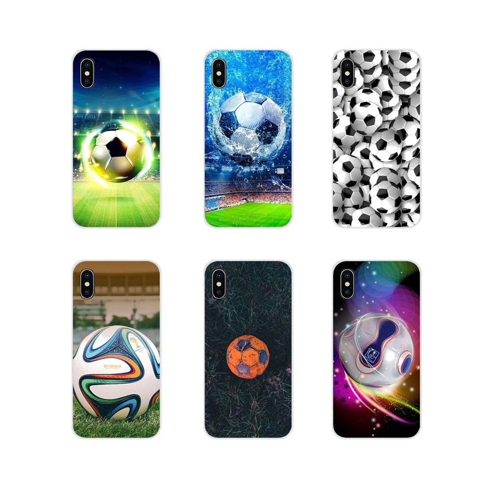 <font><b>Capinhas</b></font> Football Soccer Ball Design Cell Phone Bag Case For <font><b>Samsung</b></font> A10 <font><b>A30</b></font> A40 A50 A60 A70 Galaxy S2 Note 2 3 Grand Core Prime image