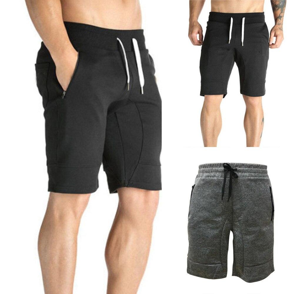 Summer New Fashion Men's Zipper Pocket Casual Elastic Waist Harem Training Sport Short Pants Wholesale Free Ship штаны Z4