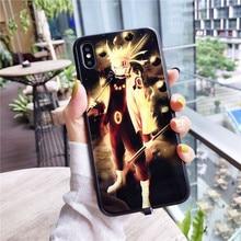 Anime Naruto Sasuke LED Light Phone Case Cover For iPhone XR XS MAX 11/8/7/6/6S Plus (11 styles)