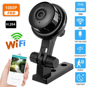 Wireless 1080P HD IP Camera Two Way Audio Night Vision Video Monitor 360 Degree Panoramic Home Security Camera Remote Control 1080p 360 degree fisheye security ip camera wireless panoramic ptz ir cut night vision two way audio cctv cameras