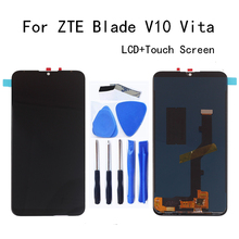6.26 high quality For ZTE Blade V10 Vita LCD Display+Touch screen Digitizier Assembly replacement for zte v 10 Repair kit