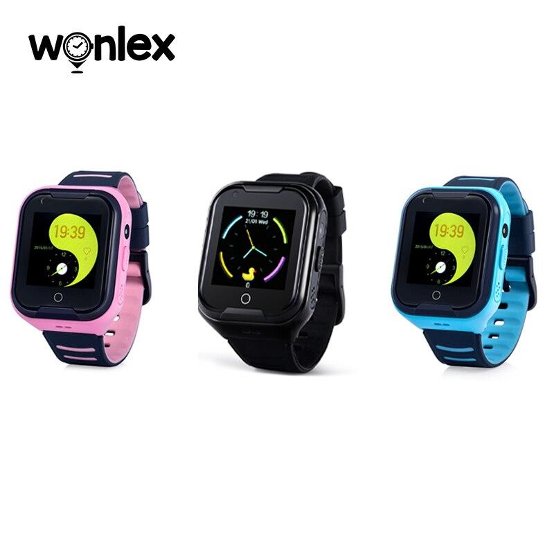Wonlex kt11дешевле водонепроницаемый IP67 4G SIM-карта Видеозвонок Смарт-часы GPS Po дети новая версия Дети студентов SOS часы