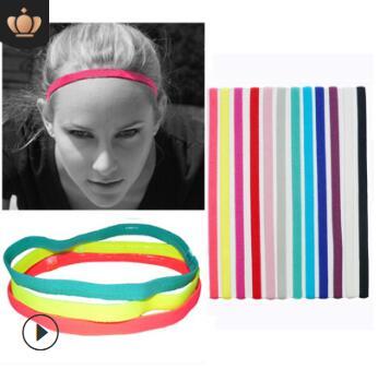 Headband do Bandas de Cabeça Lote Faça Você Mesmo Multi Simples Tecidos Esportes Yoga Elástica Execução Antiderrapante Ferramentas Hair Styling Acessório Ha947 120 Pçs –