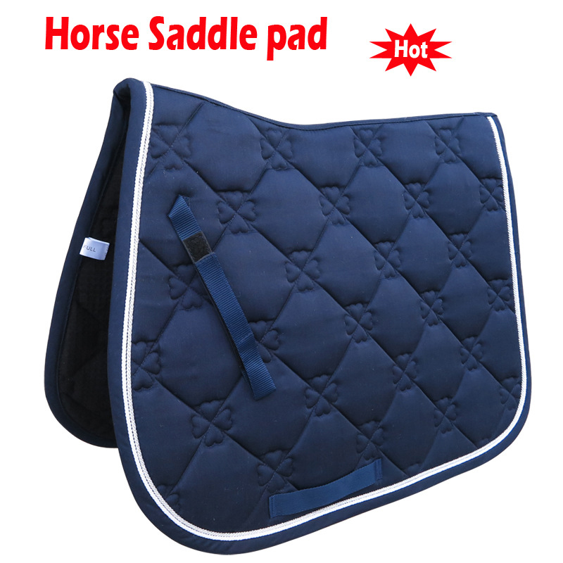 Bicycle Saddle Pad Comfortable Cycling Cushion Seat Cover Case Horse Riding Cushion Jumping Performance Accessories Saddle Cover