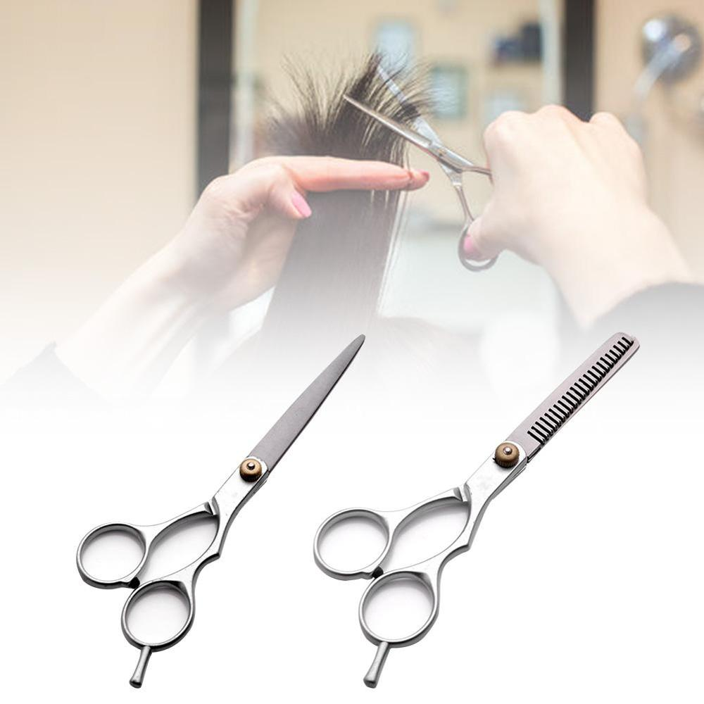 High Quality Ideal Tool For Hairdressers Stainless Steel Alloy Hair Scissors Sharp Durable Cutting Scissors Thinning Scissors