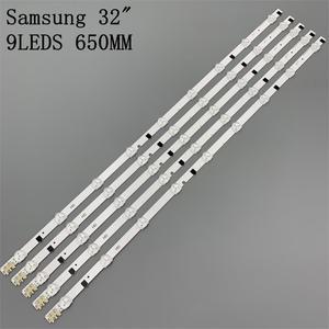 Image 2 - كيت 5 قطعة 9LED 650 مللي متر LED الخلفية قطاع بار لسامسونج UE32F5000 D2GE 320SC0 R3 2013SVS32H CY HF320AGEV3H BN96 26508a
