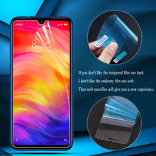 Nano Explosion-proof Film For Xiaomi Redmi Note 7 6 5 Pro 7A 6A Screen Protector For Xiaomi Mi 9 SE A3 Lite CC9 CC9e (Not Glass) фартук детский равиоли зеленый