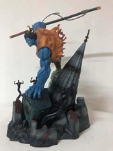 Japan Anime One Piece Dream Devil Moonlight Molia GK Dream Devil Road Luffy Figure Blue Statue Model Collections