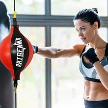 Mma Speed Ball Bag Boxing Punching Bag Fight Muay Thai Boxing Ball for Speed Boxing Training Equipment Women Speedball Boxing
