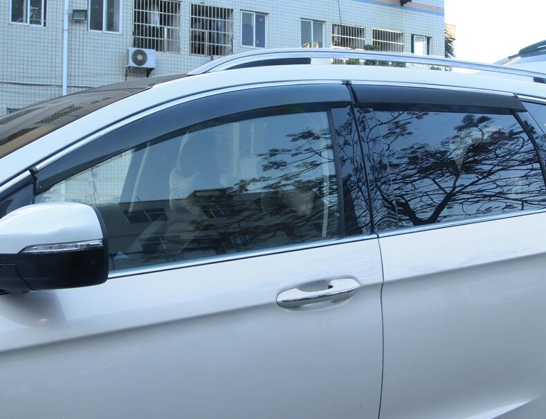Image 5 - for Ford New Mondeo Rain Shield Special Window Rain Eyebrow Gear 13 18 Rain Shield Bar Decorative Accessories